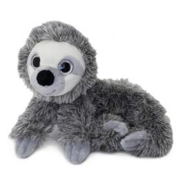 Grey Sloth Plush Pencil Case