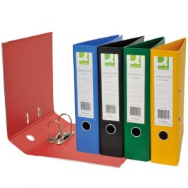 Q-Connect PVC Lever Arch Files Foolscap
