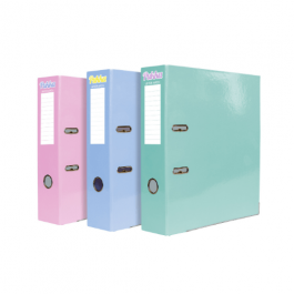 Pukka A4 Lever Arch Files Muted Pastel Shades