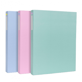 Pukka A4 Ring Binders Muted Pastel Shades
