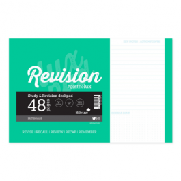 Silvine Study And Revision Desk Pad