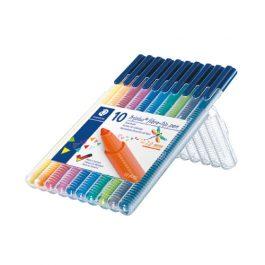 Staedtler Triplus Coloured Pens Desktop Pk 10