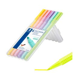 Staedtler Triplus Textsurfer Pastel Highlighters Pk 6