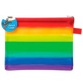 Tiger A5 Rainbow Pencil Case