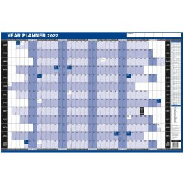 Simply Mounted Year Planner 2022