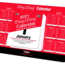 Tallon Daily Tear-Off Desk Calendar 2021