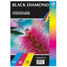 Black Diamond A4 Gloss 150 gsm Pk 50