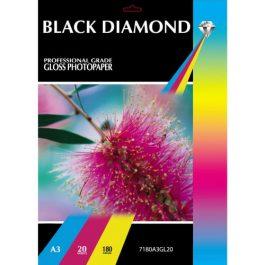 Black Diamond A3 Gloss 150 gsm Pk 20