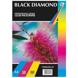 Black Diamond A4 Diamond Gloss 260 gsm Pk 50