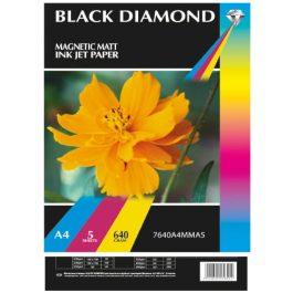 Black Diamond A4 Magnetic Matt 640 gsm Pk 5