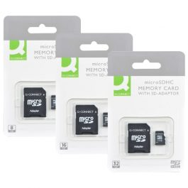 Q-Connect Micro SD Cards With SD Adapter