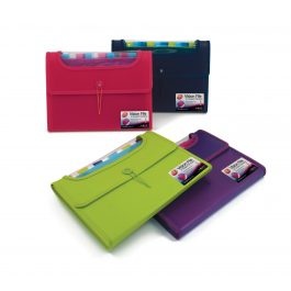 Pukka A4 Expandable File 12 Part in Bright Colours