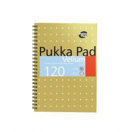 Pukka Metallic Notebook A5 Vellum pages