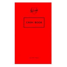 Silvine Red Cover Cash Book
