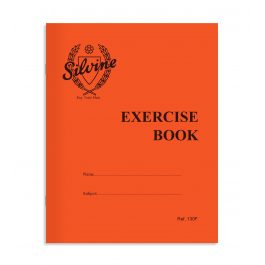 Silvine Red Cover Exercise Book