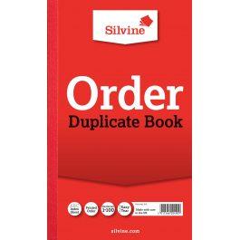 Silvine Duplicate Order Book 8″ x 5″