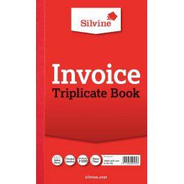 Silvine Triplicate Invoice Book 8″ x 5″