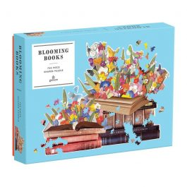 Blooming Books Shaped Puzzle 750 Piece Puzzle