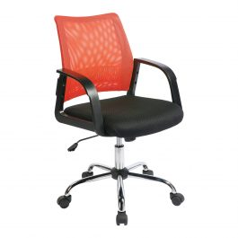 The Barcelona Chair Orange