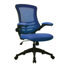 The Rome Mesh Operator's Chair Blue