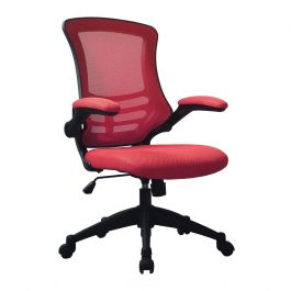 The Rome Mesh Operator's Chair Red