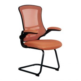 The Budapest Cantilever Chair Orange