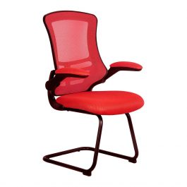 The Budapest Cantilever Chair Red