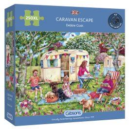 Gibsons Jigsaw Caravan Escape 250XL Piece Puzzle