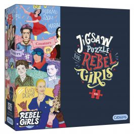 Gibsons Jigsaw Rebel Girls 500 Piece Puzzle
