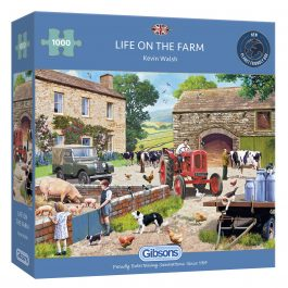 Gibsons Jigsaw Life on the Farm 1000 Piece Puzzle