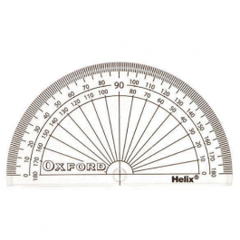 Helix Oxford 180 Degree Protractor