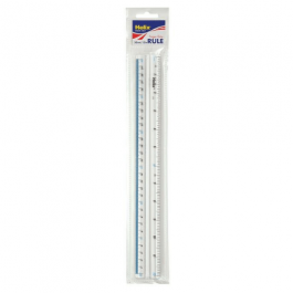 Helix Finger Grip Ruler 30 cm