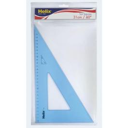 Helix 60 Degree Set Square 26 cm