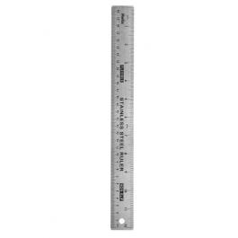Helix Steel Ruler 30 cm