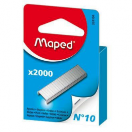 Maped No. 10 Staples Box 2000