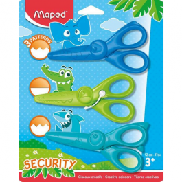 Maped Kidicraft Scissors Pk 3