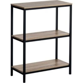 Teknik Industrial Style 2 Shelf Bookcase