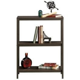 Teknik Industrial Style 2 Shelf Bookcase Smoked Oak