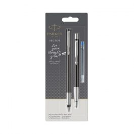 Parker Vector Duo Set Fountain Pen & Ballpen Blue