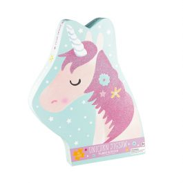 Floss & Rock Jigsaw in Shaped Box Fairy Unicorn 40 Piece Puzzle