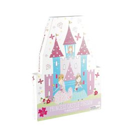 Floss & Rock Jigsaw in Shaped Box Princess Castle 40 Piece Puzzle