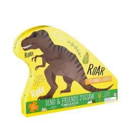 Floss & Rock Jigsaw in Shaped Box Dino & Friends 40 Piece Puzzle