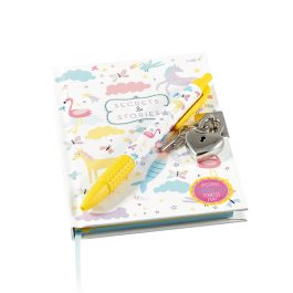 Floss & Rock Fantasy Lockable Notebook with Scented Pen