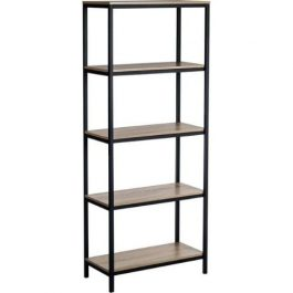 Teknik Industrial Style 4 Shelf Bookcase