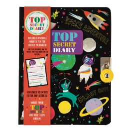 Floss & Rock Top Secret Space Lockable Diary