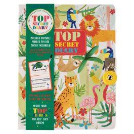 Floss & Rock Top Secret Jungle Lockable Diary