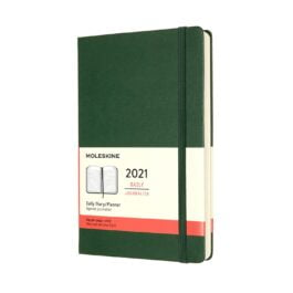 Moleskine 2021 Daily 12 Month Large Diary Hard Cover