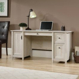 Teknik Chalked Wood Computer Desk