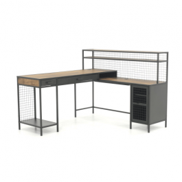 Teknik Boulevard L Shaped Desk