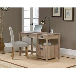 Teknik Sit Stand Desk Salt Oak
